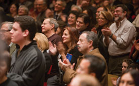 New York Philharmonic audience