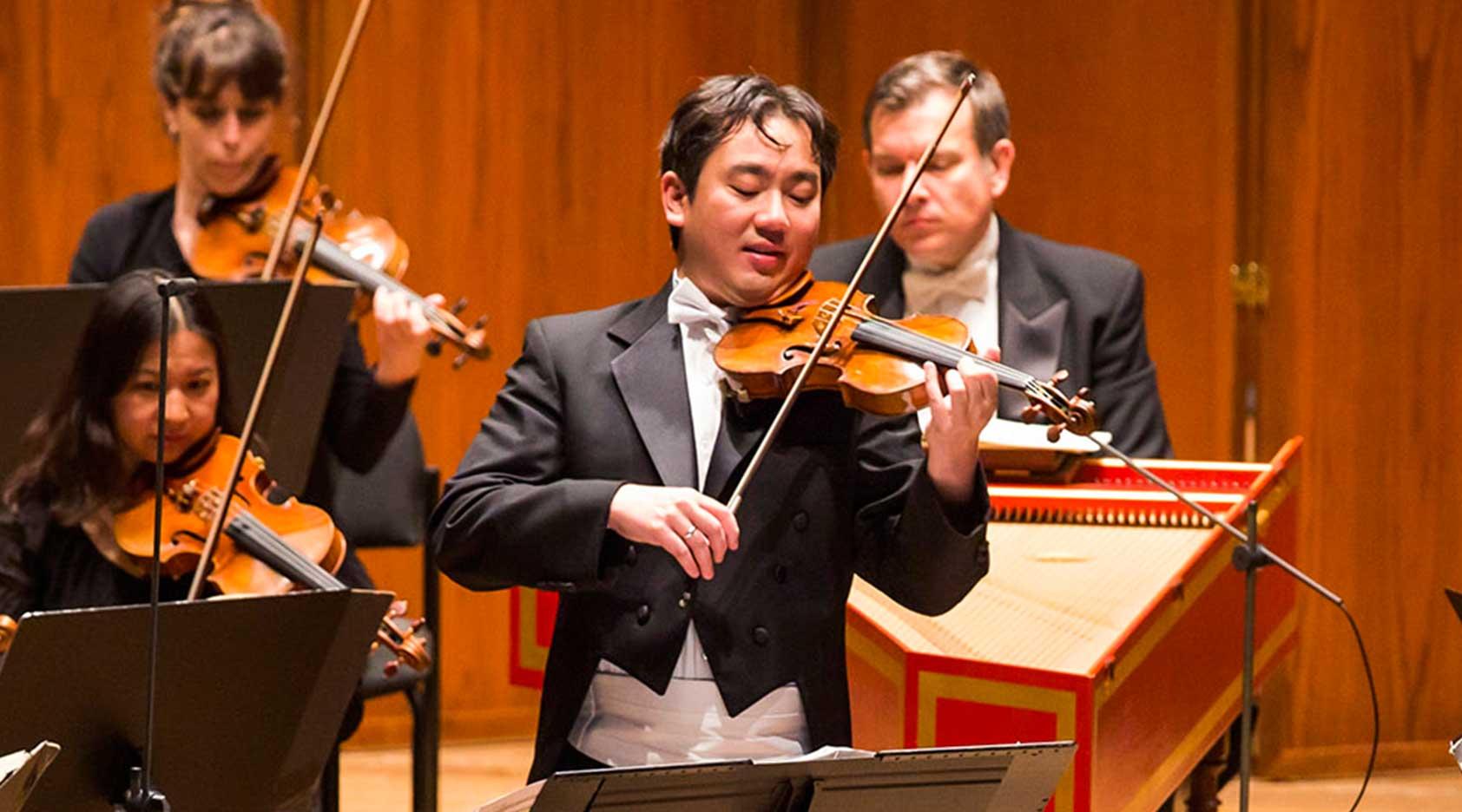 Frank Huang, Concertmaster