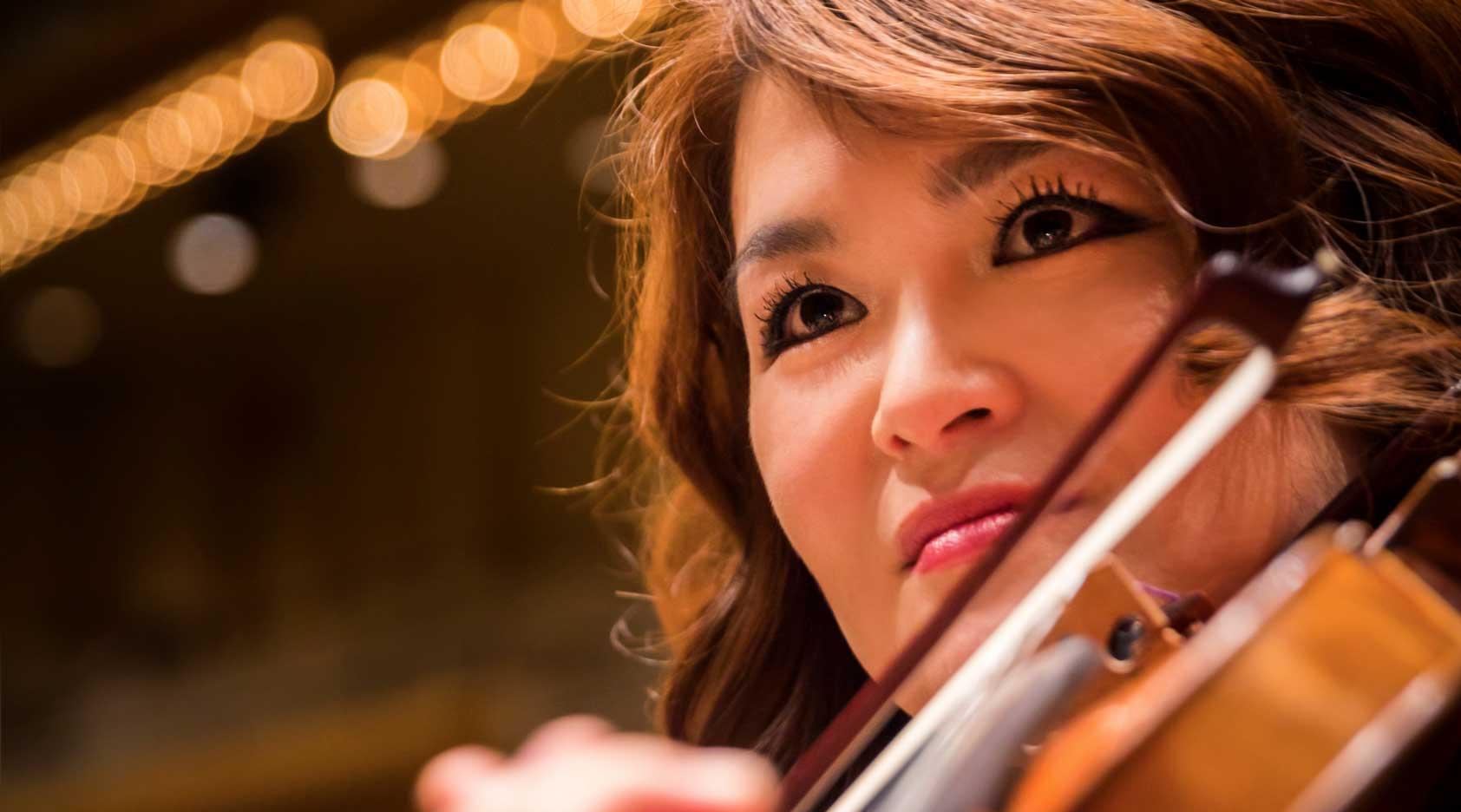 Michelle Kim, Assistant Concertmaster, The William Petschek