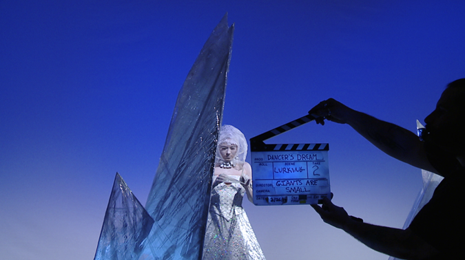 Ice Maiden Video Shoot