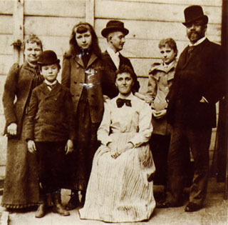 Dvorak Family in New York