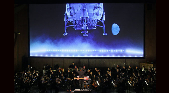 """2001: A Space Odyssey"" at NY Philharmonic"