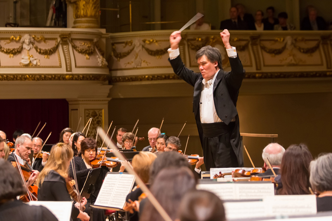 <b>Dresden, May 13, 2013, 10:00PM:</b> Alan Gilbert leads the New York Philharmonic in a triumphant performance of Musorgsky's <i>Pictures at an Exhibition,</i> as arranged by Ravel.