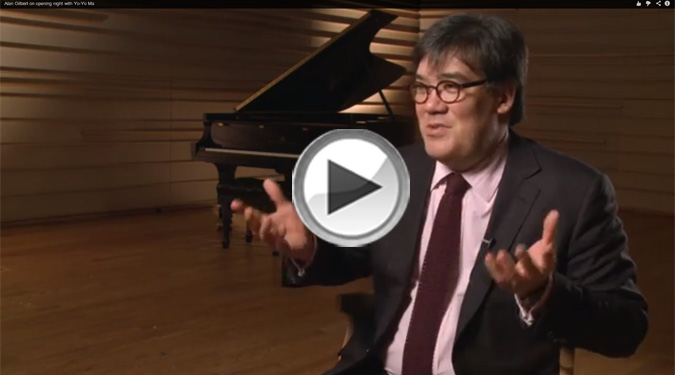 Alan Gilbert on Yo-Yo Ma Video