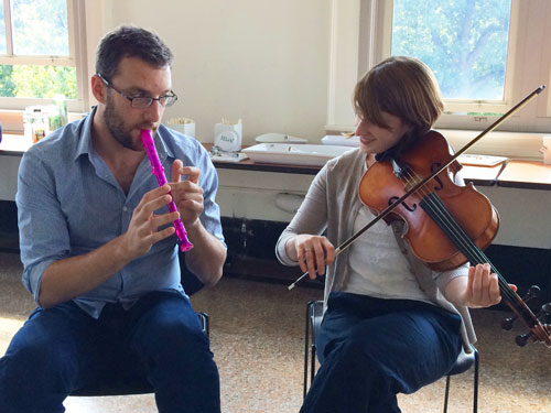 NY Philharmonic Teaching Artists Fall Retreat
