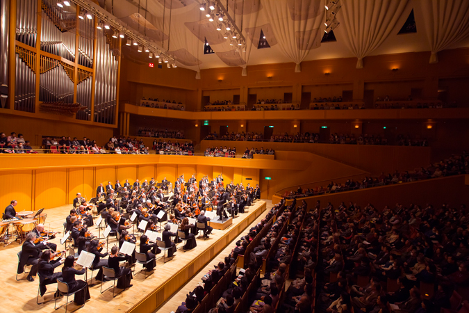 <b>Nagoya, February 9, 2014, 4:04PM:</b> The audience at Nagoya's sold-out, 1,800-seat Aichi Arts Center is transfixed by the rendition of Tchaikovsky's Fifth Symphony, and are treated to two encores: the Waltz from Tchaikovsky's Serenade for Strings and the Overture to Glinka's <em>Ruslan and Ludmila.</em>