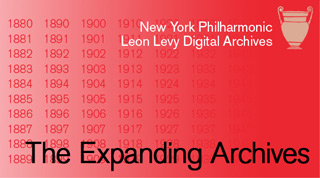 NY Philharmonic Digital Archives