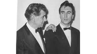 Leonard Bernstein and Claudio Abbado
