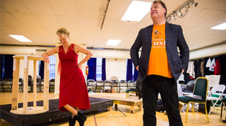 Emma Thompson and Bryn Terfel NY Philharmonic