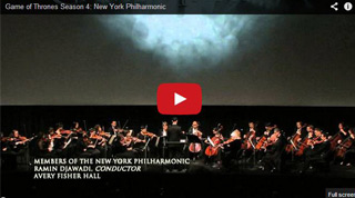 Game of Thrones NY Philharmonic