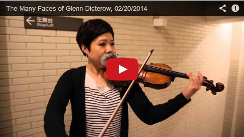 The Many Faces of Glenn Dicterow NY Philharmonic