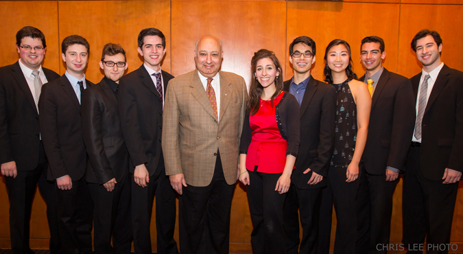 Mehta Fellows Zarin Mehta NY Philharmonic
