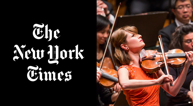 Lisa Batiashvili The New York Times NY Philharmonic