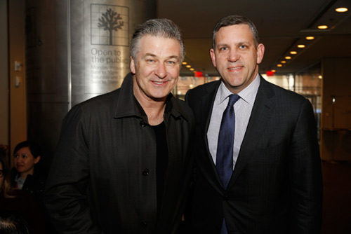 Alec Baldwin and Matthew VanBesien NY Philharmonic