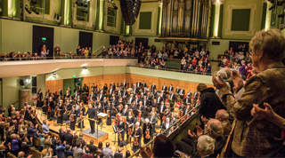 EUROPE / SPRING 2015 tour NY Philharmonic Alan Gilbert Dublin