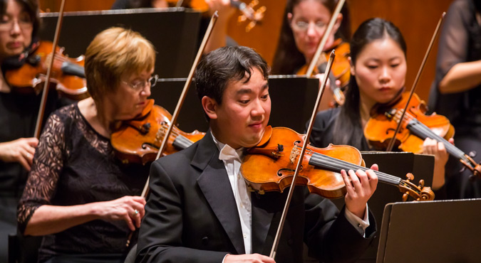 Frank Huang New York Philharmonic