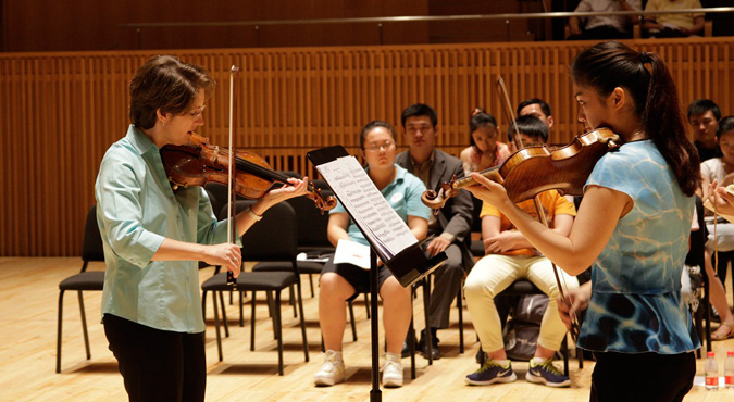 Sheryl Staples New York Philharmonic Global Academy Shangai Orchestra Academy