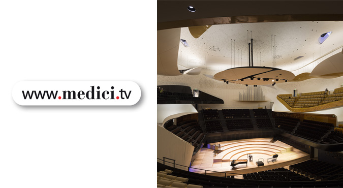 Medici.tv Philharmonie de Paris New York Philharmonic