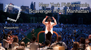 Concerts in the Parks Scavenger Hunt New York Philharmonic