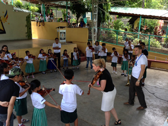New York Philharmonic Education Visits Philippines