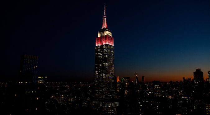 Empire State Building New York Philharmonic