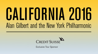 CALIFORNIA 2016 Tour New York Philharmonic