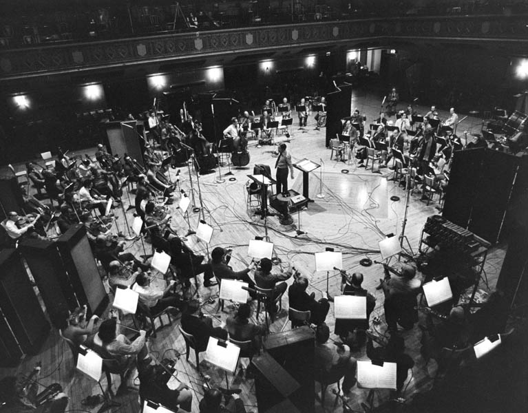 Boulez was known for his astounding ear and meticulousness, which may have led to his presiding over the Philharmonic's first quadraphonic symphonic recording session, in December 1972, at the Manhattan Center. The subsequent recording, of Bartók's Concerto for Orchestra, was released on Columbia Records in 1973.