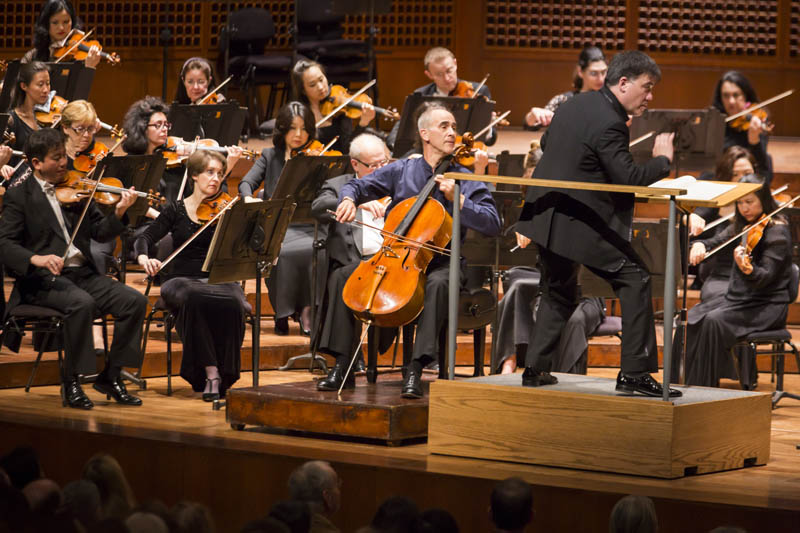 <b>San Francisco, Saturday, May 7, 2016, 8:35PM:</b> The grand finale concert of the CALIFORNIA 2016 tour includes Principal Cello Carter Brey collaborating with his colleagues in a different capacity — as soloist in Schumann's Cello Concerto. Also on the program: Brahms's <em>Tragic Overture</em> and lyrical Second Symphony.