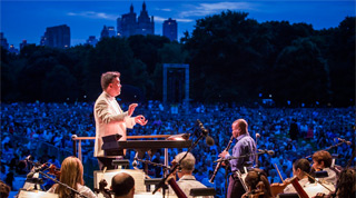 NY Philharmonic Concerts in the Parks Central Park Anthony McGill Alan Gilbert