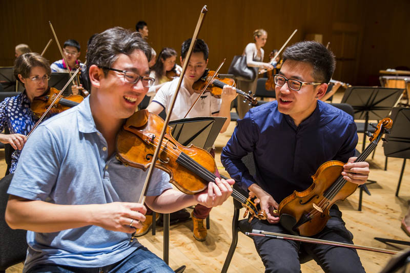 <b>Shanghai, July 6, 2016, 9:52AM:</b> The fifth day of the New York Philharmonic's second annual performance residency of the <a href=