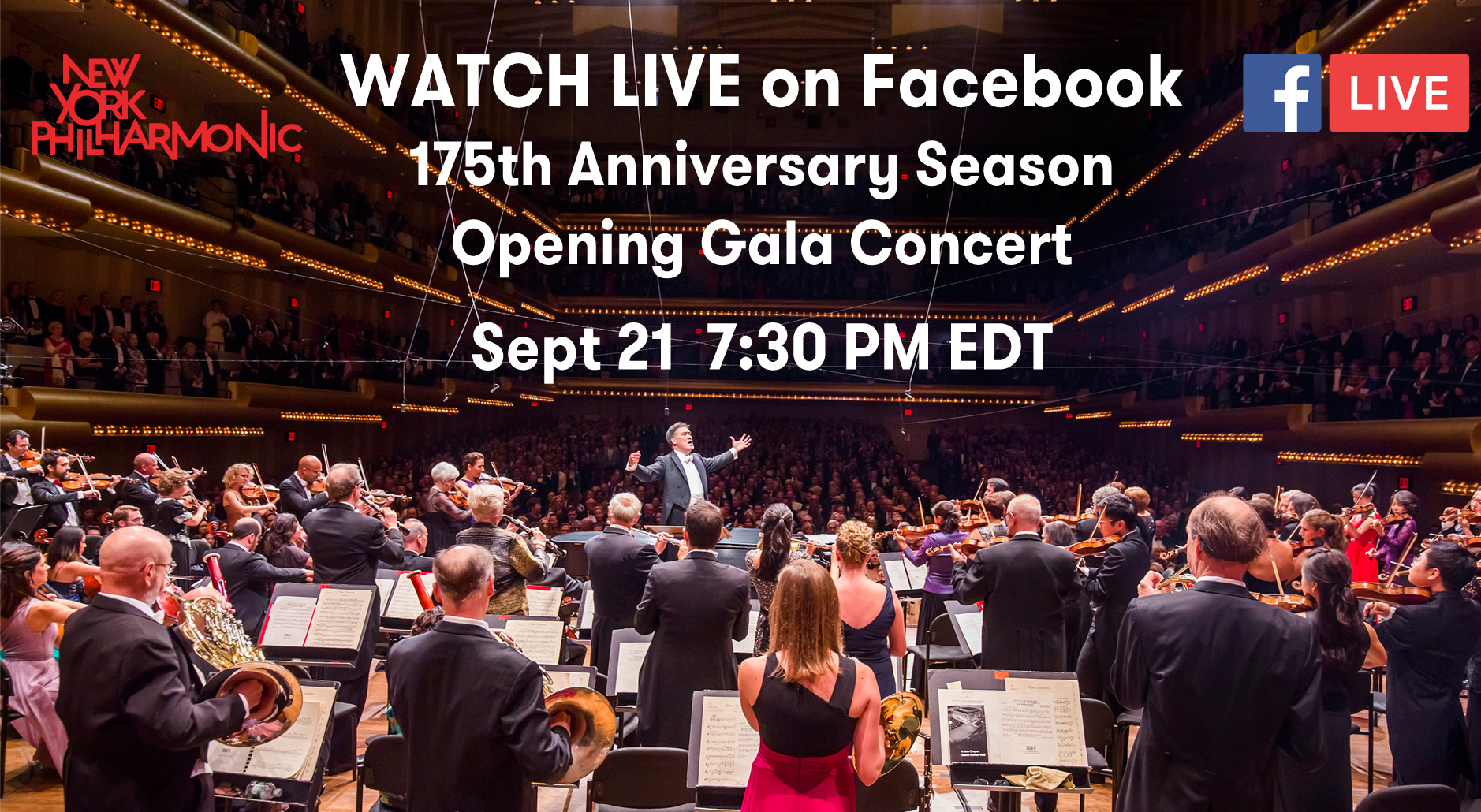 NY Philharmonic The New World Initiative Facebook Live Dvorak