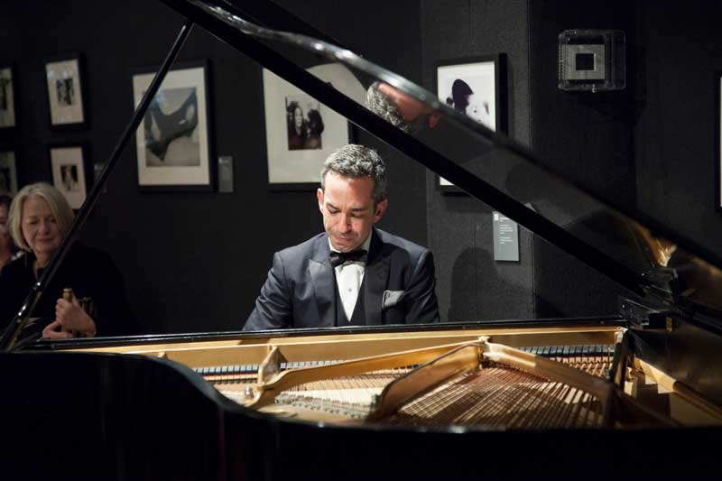 New York Philharmonic Artist-in-Association Inon Barnatan at the National Arts Club