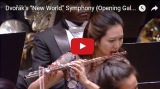 "New York Philharmonic Performs Dvořák ""New World"" Symphony"