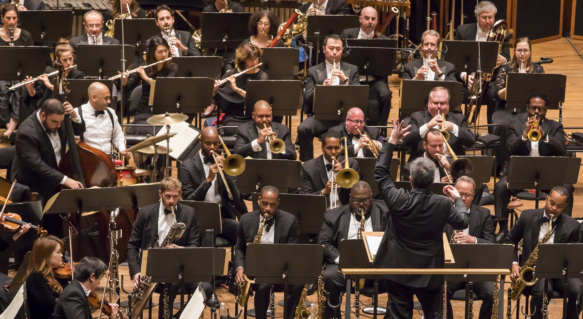 world premiere of wynton marsalis's <em>the jungle</em> (symphony no