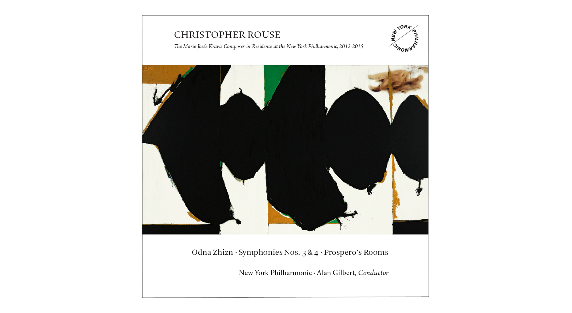 NY Philharmonic Christopher Rouse Grammy Award