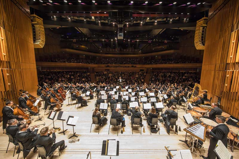 "<b>London, March 31, 2017, 8:45PM:</b> The New York Philharmonic has arrived in London for its third residency at the Barbican Centre under the auspices of its International Associates initiative. In the first concert, Music Director Alan Gilbert leads the Orchestra in Bartók's Music for Strings, Percussion, and Celesta. ""As the orchestra charted a steady path through its translucent and even icy textures, the piece's inner mechanisms were revealed in music-making that insistently shone lights into the very heart of its darkness,"" praised <em>The Guardian.</em> All photos by Chris Lee."