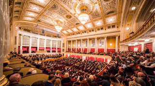 NY Philharmonic Europe Tour Vienna