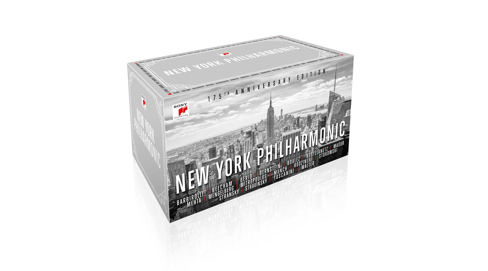 New York Philharmonic — 175th Anniversary Edition Box Set Released Today c1facf2d8d