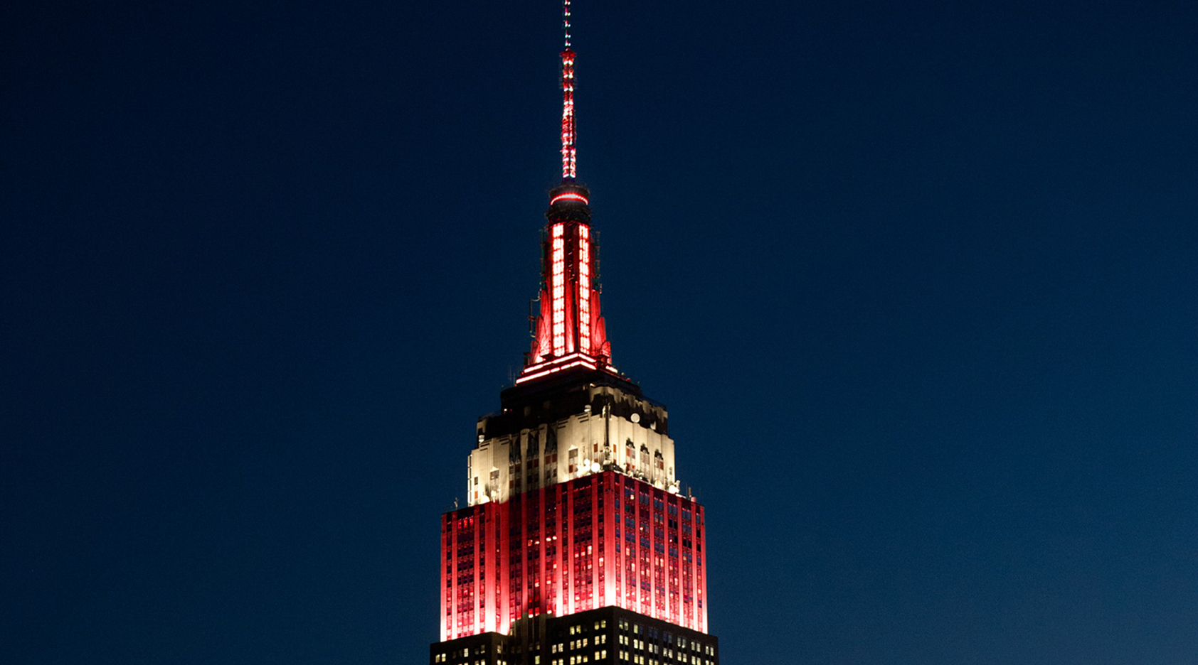 Empire State Building To Glow Red For Launch Of Jaap Van Zwedens