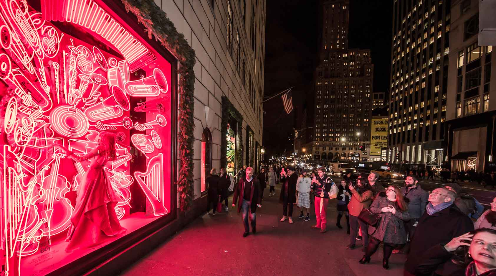 New York Philharmonic Featured In Iconic Bergdorf Goodman Holiday