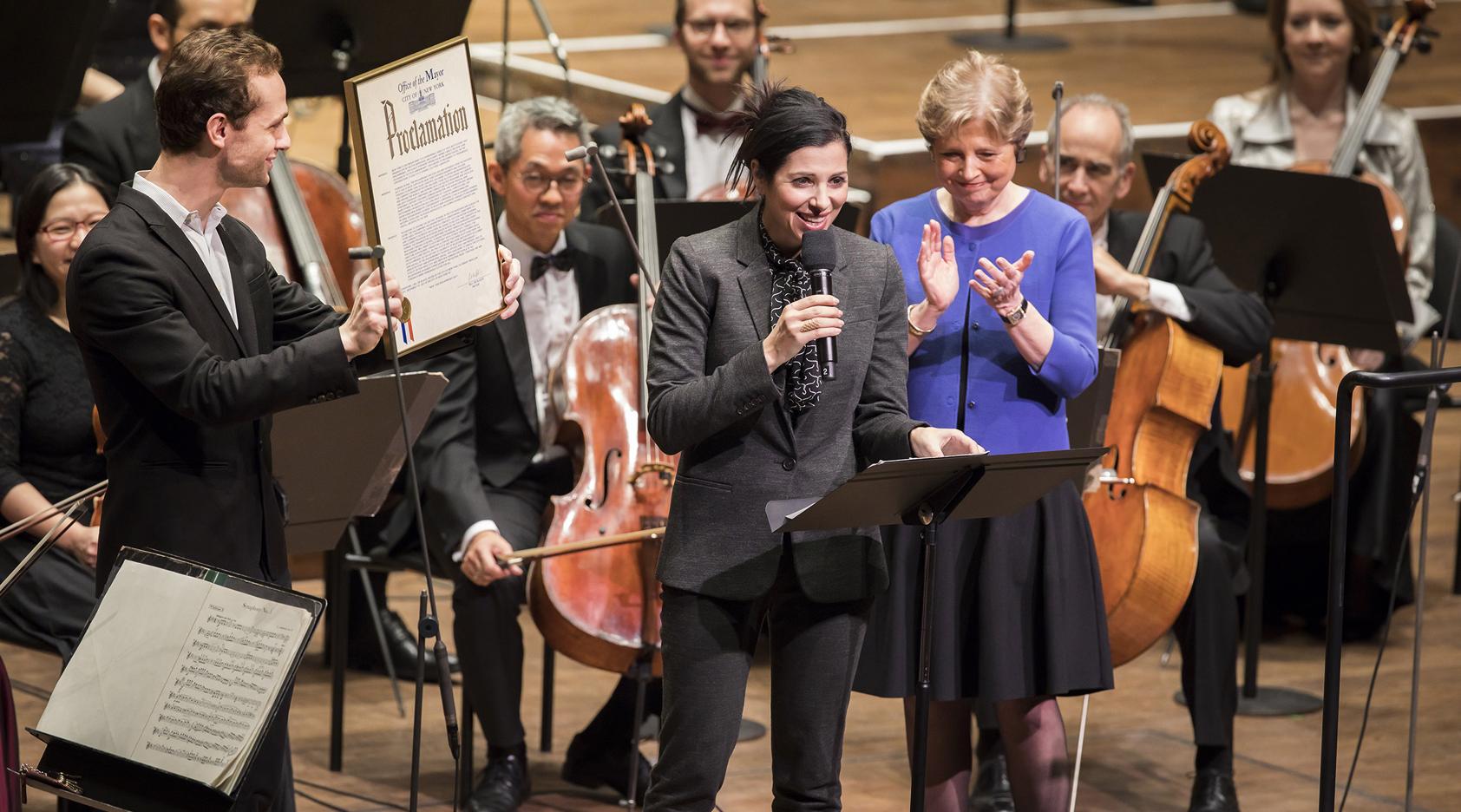 New York City Proclaims December 7 New York Philharmonic Day