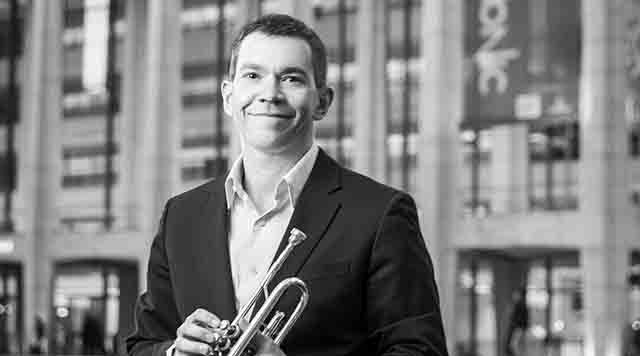 em>On the Cover:</em> Principal Trumpet Christopher Martin