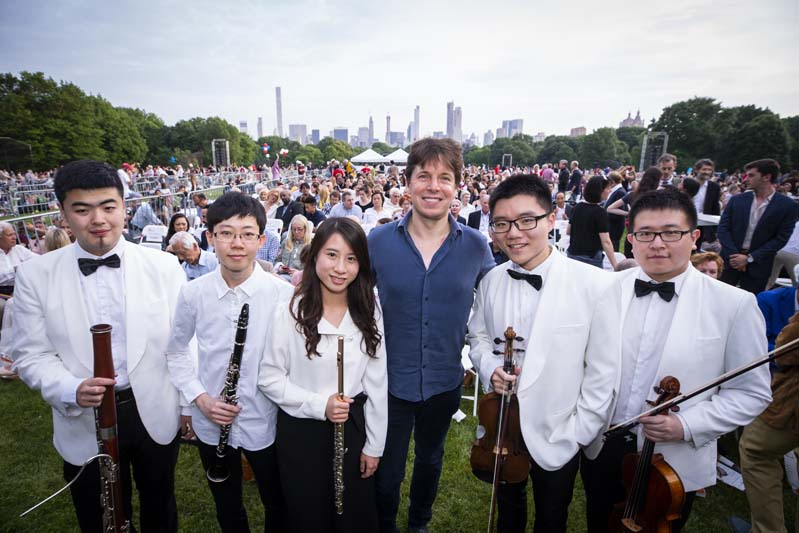shanghai orchestra academy fellows experience immersion with new
