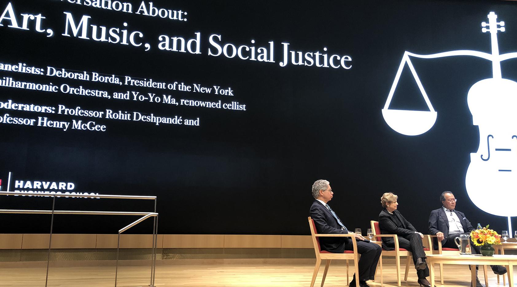 Yo-Yo Ma and Deborah Borda Discuss Art, Music, and Social