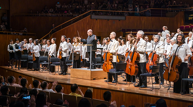Jaap van Zweden and the New York Philharmonic