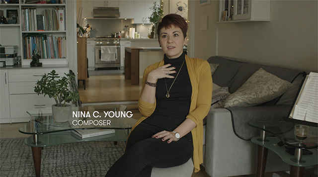 Composer Nina C. Young