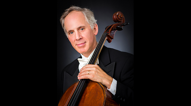 New York Philharmonic cello Eric Bartlett, retiring in 2020