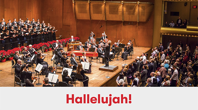 Holidays at the NY Phil, including a sing-along to the
