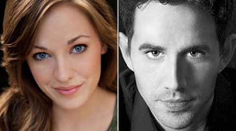 Laura Osnes and Santino Fontana