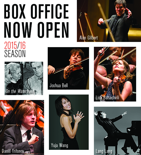 Box Office Open New York Philharmonic